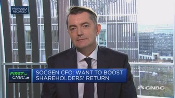 Confident we can grow revenues 2.5 percent per year: Societe Generale CFO