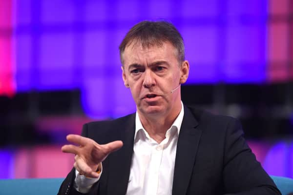 Sky chief executive Jeremy Darroch at a conference in Dublin, Ireland in 2015