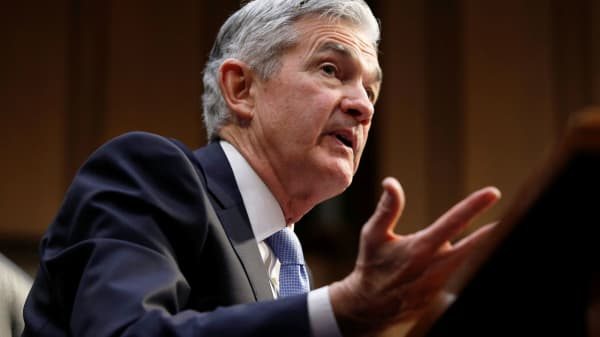 Jerome Powell testifies before the Senate Banking, Housing and Urban Affairs Committee on his nomination to become chairman of the U.S. Federal Reserve in Washington, November 28, 2017.
