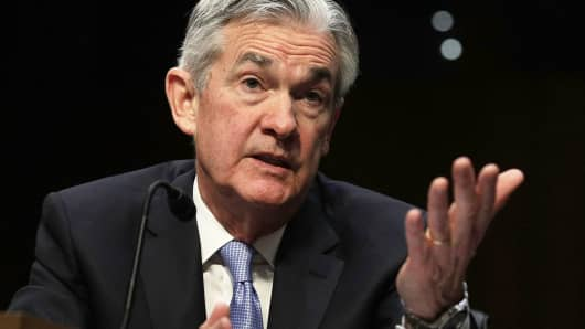 Chairman of the Federal Reserve Jerome Powell