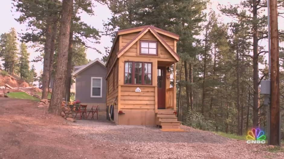 This tiny home builder sees huge growth for this growing market