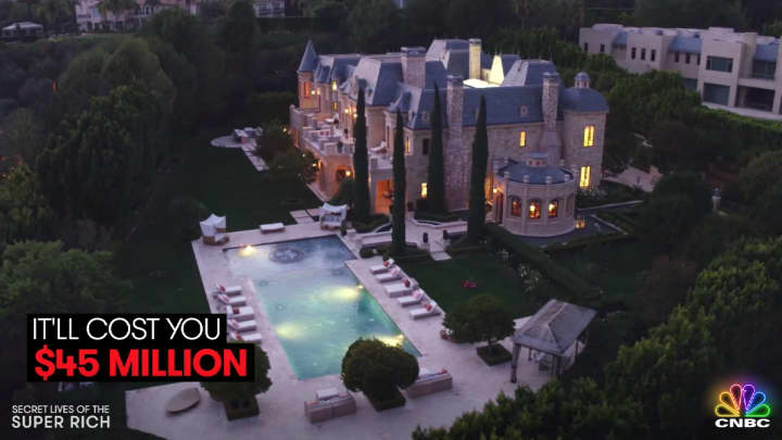 Inside a $45 million Beverly Hills castle