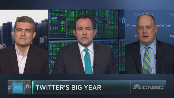 Twitter is on pace for its best year ever
