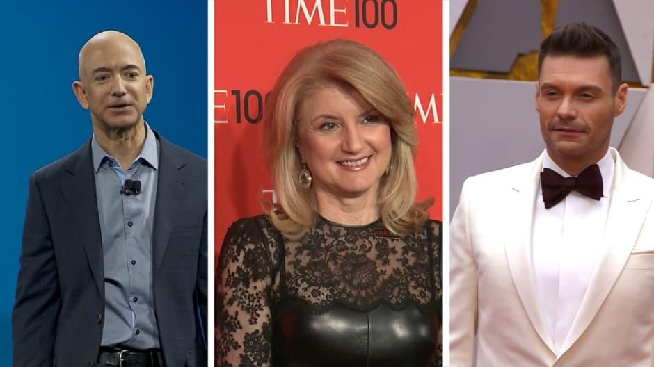 Jeff Bezos, Arianna Huffington and 3 other business leaders on how to avoid career burnout