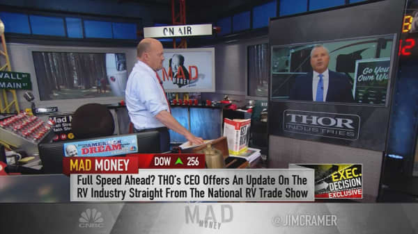 CEO of RV maker Thor Industries: Stock's 13% rise due to younger buyers