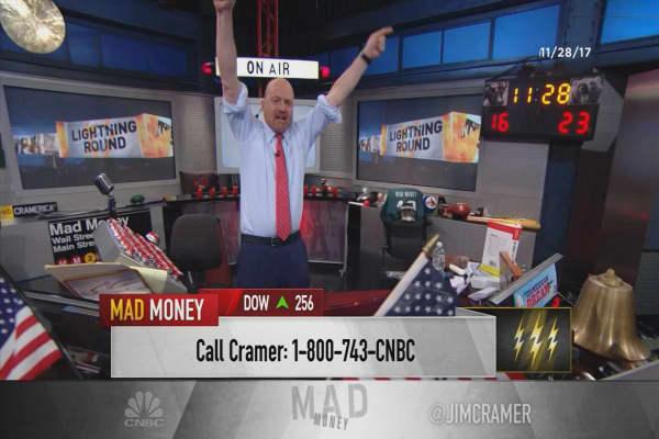 Cramer's lightning round: Don't be greedy, buy Celgene here