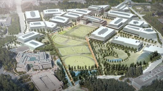 Microsoft plans to expand Redmond campus