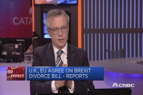 UK/EU trade deal more important than divorce bill