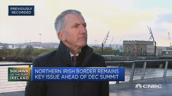 Hard border would be politicla clamity in Ireland