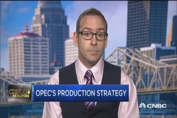 Saudi leading the charge on cutting oil production: ClipperData Matt Smith