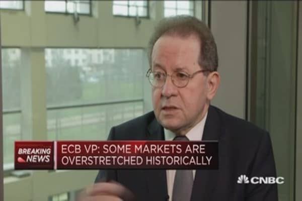 Some markets are overstretched historically: ECB Vice President