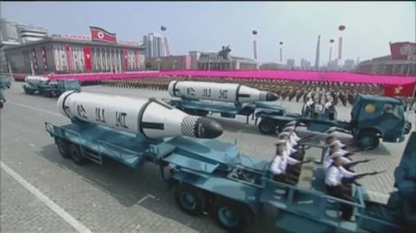 China has 'grave concerns' about North Korea's latest missile test