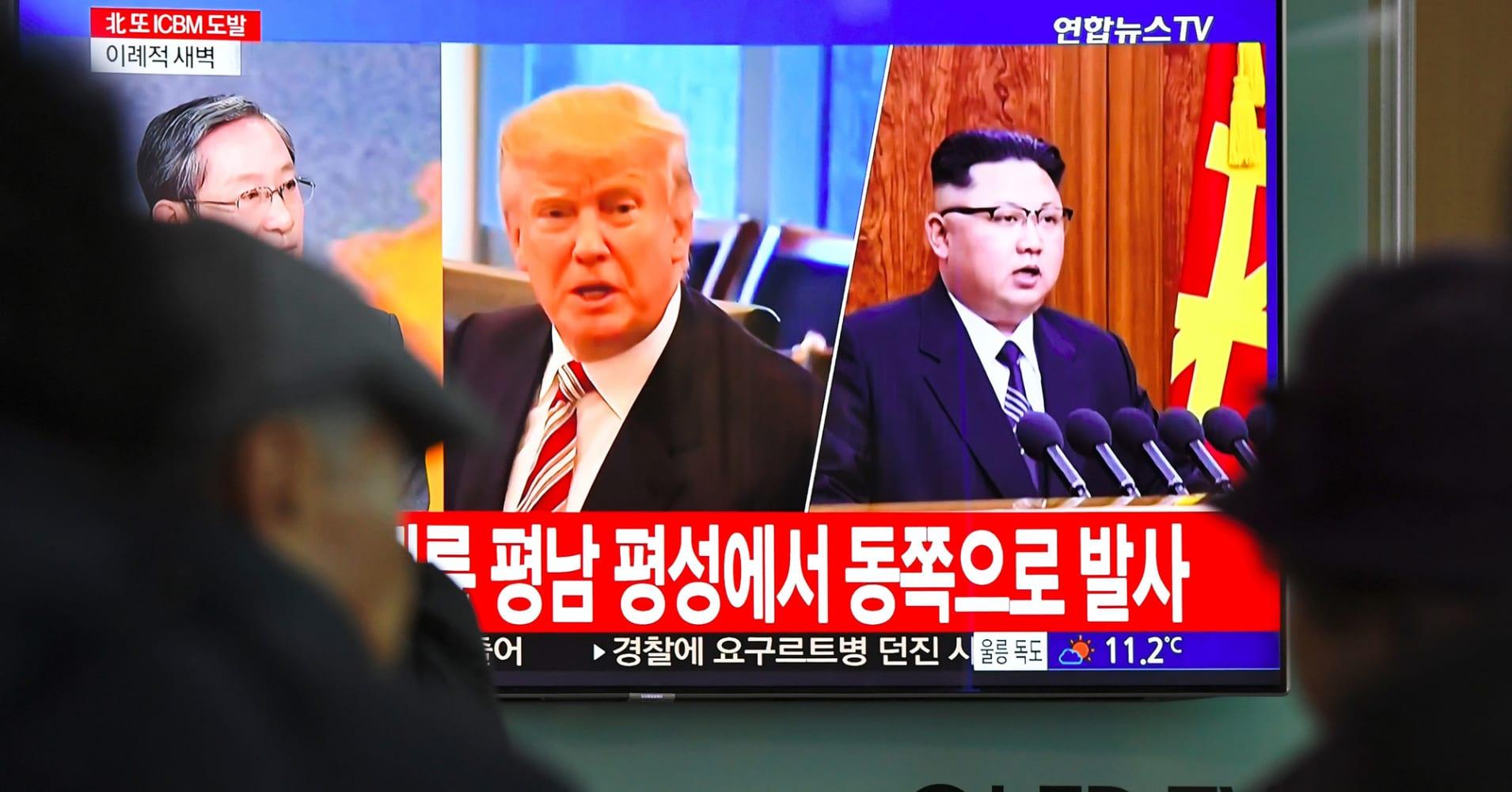 Trump says it's possible summit with North Korea's Kim won't happen