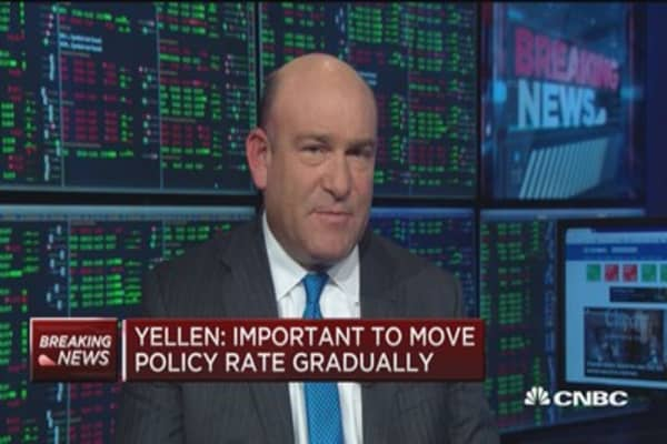 Janet Yellen: Important to move policy rate gradually