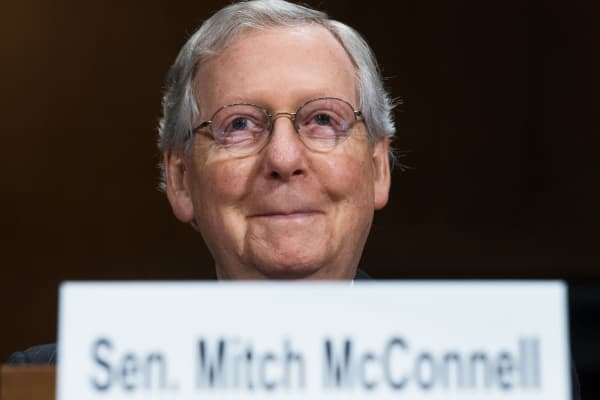 Senate Majority Leader Mitch McConnell, R-KY