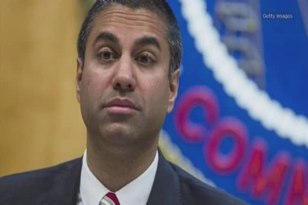 FCC head Ajit Pai says with net neutrality, 'Twitter is a part of the problem'