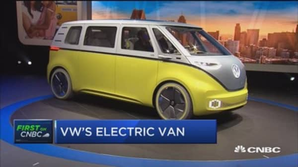 Volkswagen NA CEO: We have 'perfect timing' for electric vehicles market