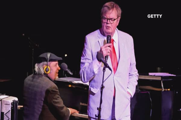 Garrison Keillor fired by Minnesota Public Radio for alleged improper behavior