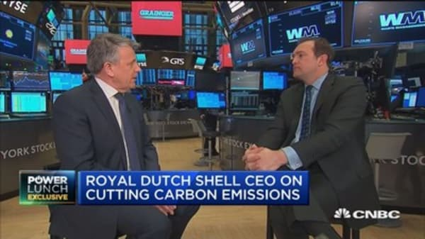 Shell CEO: There will be a considerable degree of volatility in oil prices