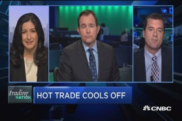 Trading Nation: Hot Nvidia trade cools off