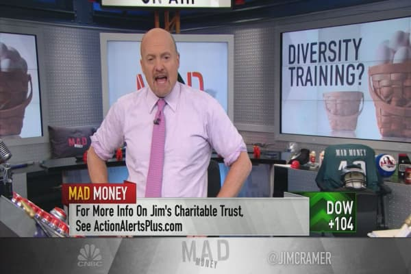 Cramer breaks down the market rotation and explains why investors should wait to buy
