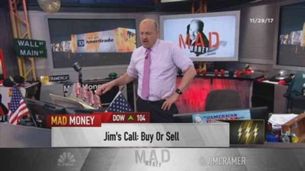 Cramer's lightning round: If you own Tower Semiconductor, ride through this weakness