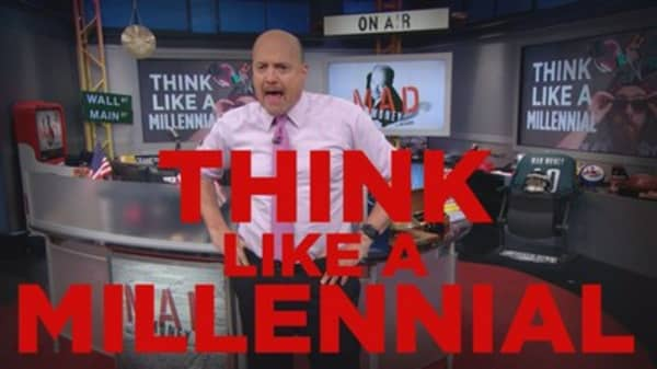 Cramer Remix: 'Thinking like a millennial' could help you win big