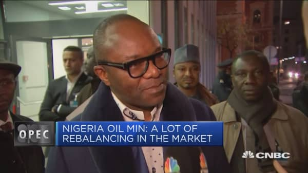 We're all aligned, including Russia: Nigerian oil minister