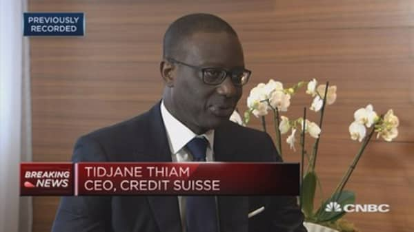Wealth management business doing well: Credit Suisse CEO