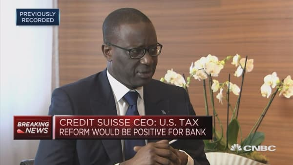 Never want to be hostage to a dividend that is unsustainable: Credit Suisse CEO