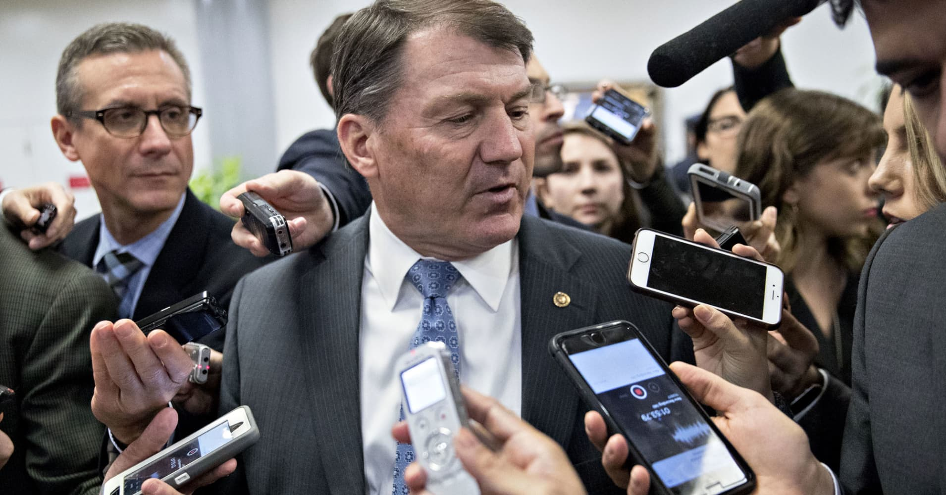 Tax vote: GOP Sen. Mike Rounds says 22% corporate rate is up for debate if it keeps the 'team together'