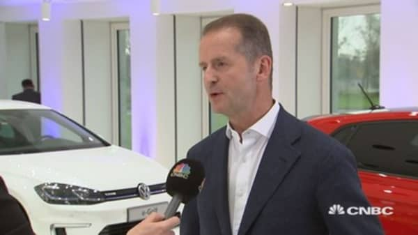 2020 will be a very crucial year for the autos industry, says VW's Diess