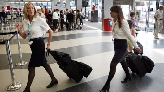 Sexual Harassment Of Flight Attendants Is Rampant Survey Finds