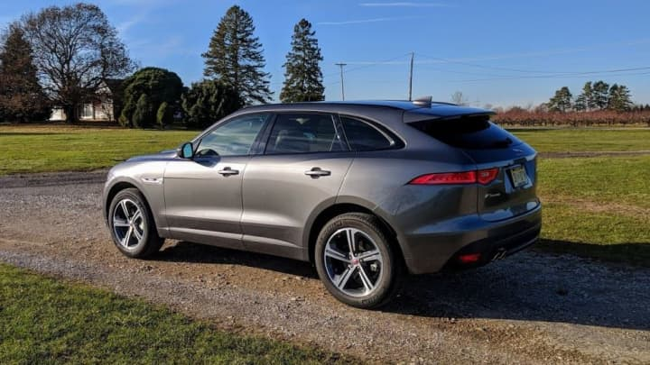 The Jaguar F Pace 20d R Sport