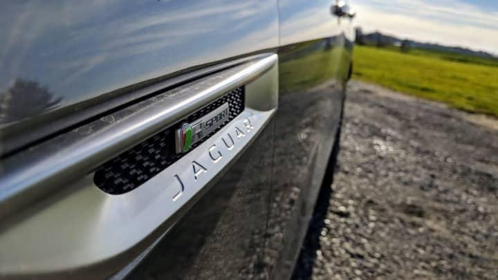 The Jaguar R-Sport logo