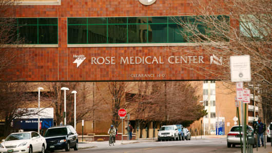 Rose Medical Center, an HCA facility in Denver, Colorado.