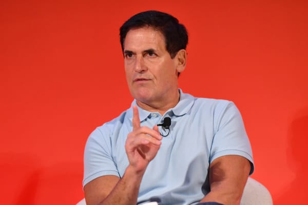 Mark Cuban speaks onstage during the THRIVE with Arianna Huffington panel at The Town Hall during 2016 Advertising Week New York on September 28, 2016 in New York City.