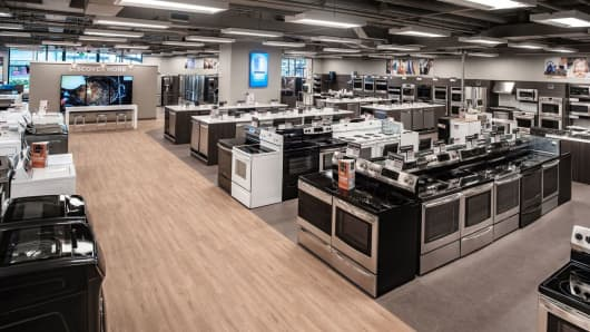 A recently opened Sears concept store in Hawaii.