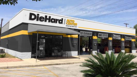 A DieHard store in San Antonio, Texas.