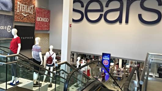 Inside a redeveloped Sears store in Danbury, Connecticut.