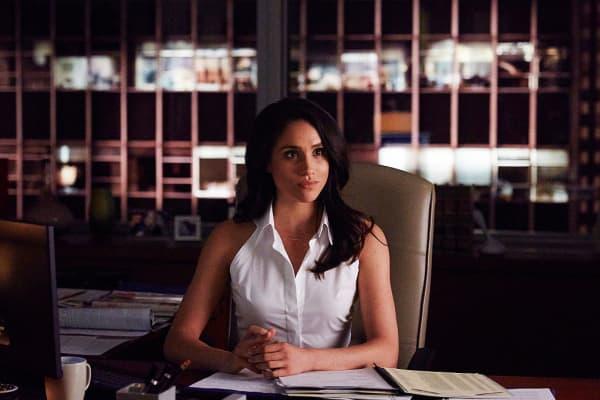 """Meghan Markle as Rachel Zane on """"Suits"""""""