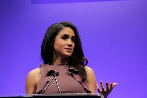 Meghan Markle star of USA Network's orginal drama 'Suits' hosts the 2015 Women in Cable Telecommunications Signature Luncheon