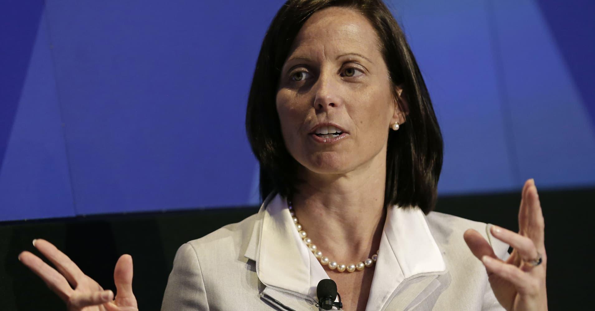 Adena Friedman, president and chief executive officer of Nasdaq Inc