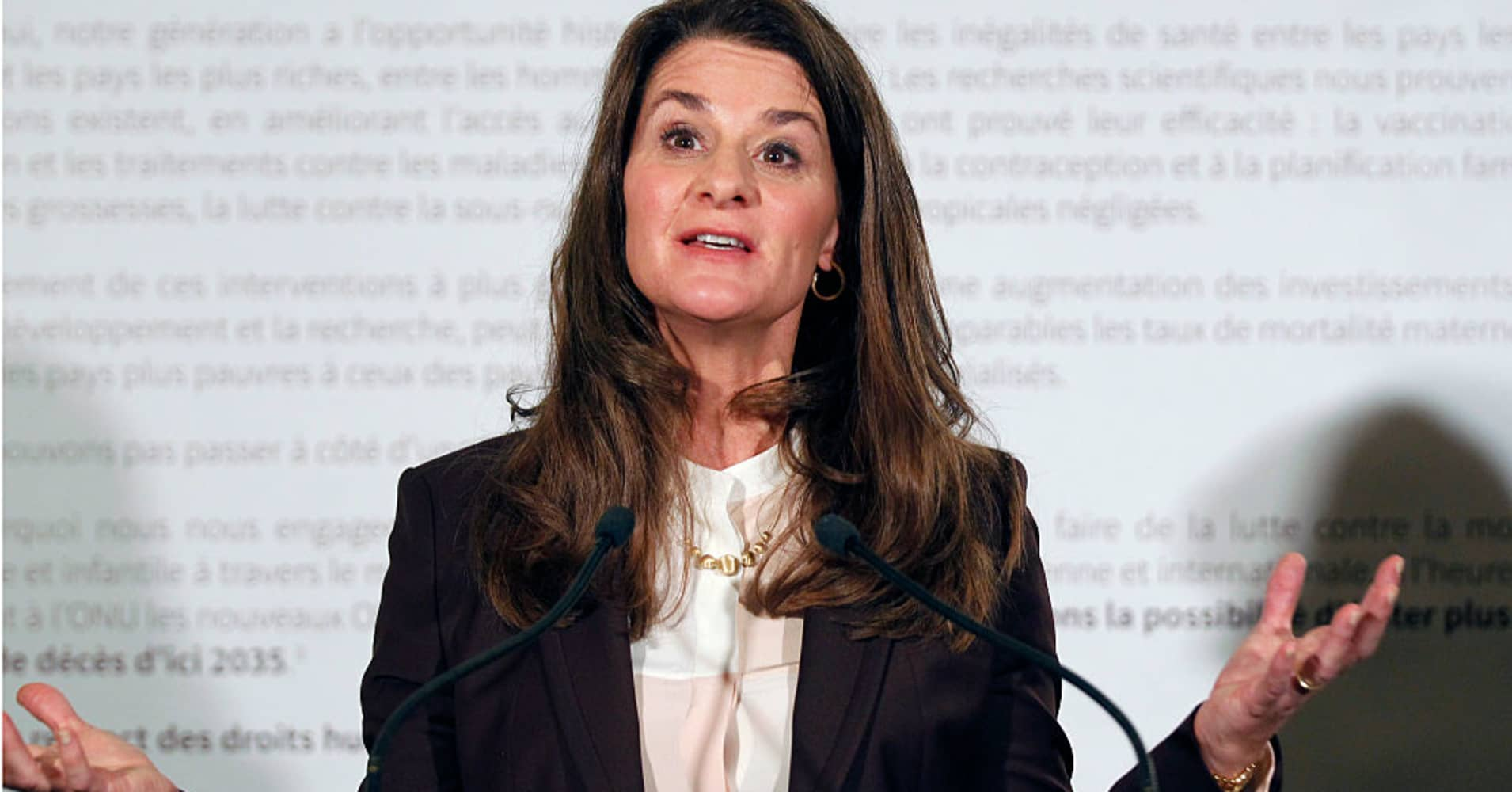 Melinda Gates: It's essential the US 'do something to accelerate women in business'