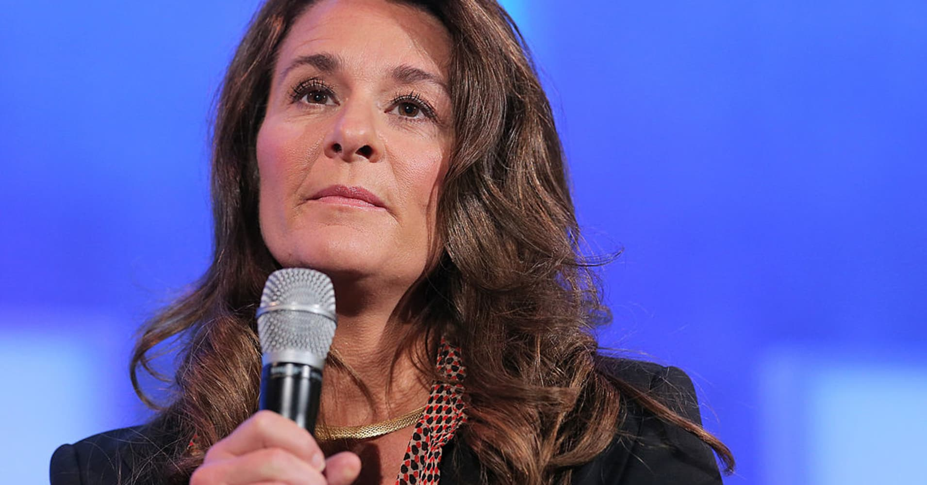 Melinda Gates: Capitalism needs work, but it beats socialism and the US is 'lucky' to have it