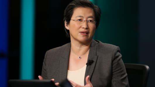 Lisa T. Su, CEO of Advanced Micro Devices