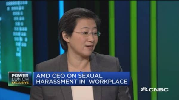 AMD CEO on sexual harassment in workplace: Focus is on driving the right culture