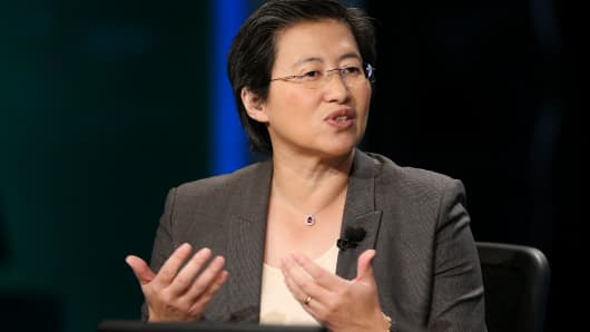 Lisa T. Su, CEO of Advance Micro Devices