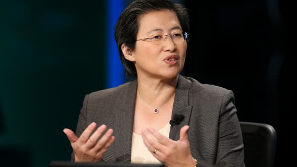 Lisa T. Su, CEO of Advance Micro Devices.