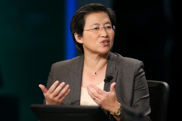 Lisa T. Su, CEO of Advance Micro Devices.